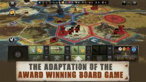 Screenshot of Scythe game