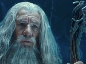 A photo of Gandalf from the Lord of the Rings movies