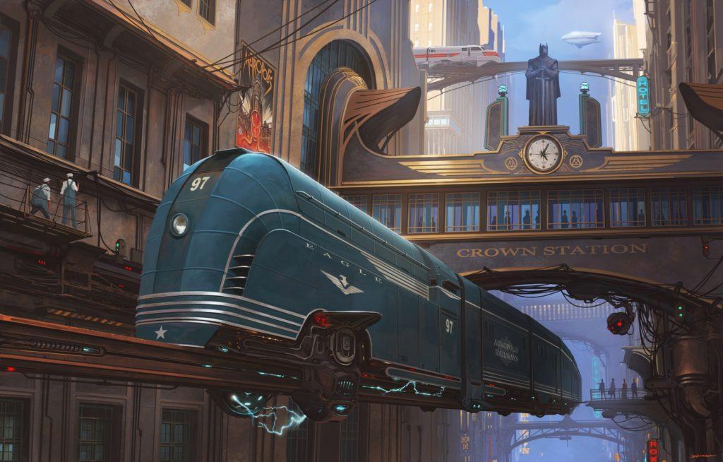 A Sci-Fi Train